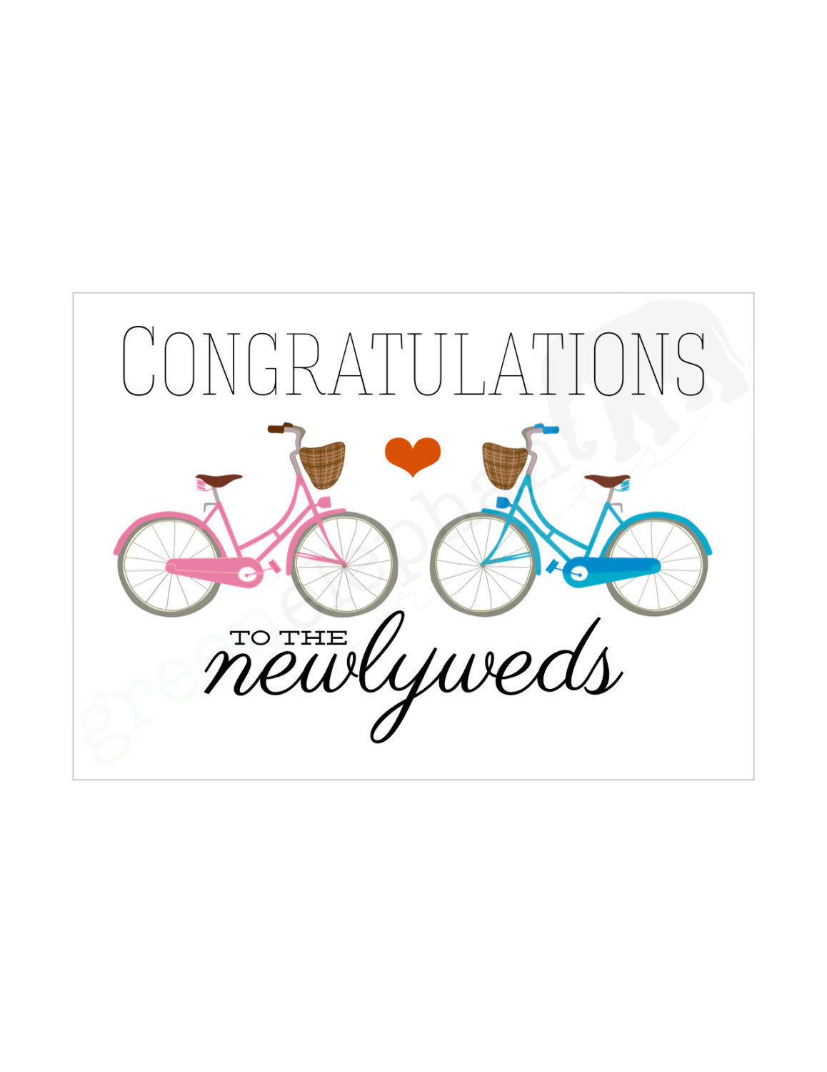 Wedding Congratulations Clipart.