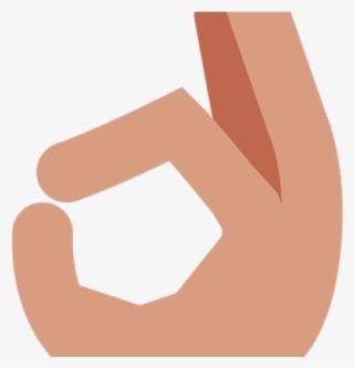 Ok Hand Emoji PNG Images.