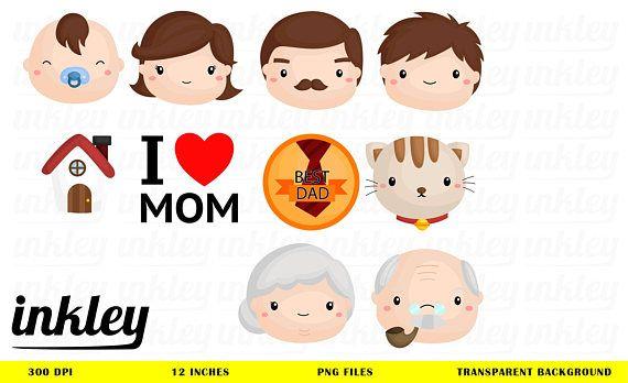 Family Icon Clipart.