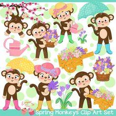 Leprechaun Monkeys Monkey Saint Patrick's Day Saint Patty Irish.