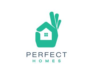 Perfect Homes Designed by Logorama.