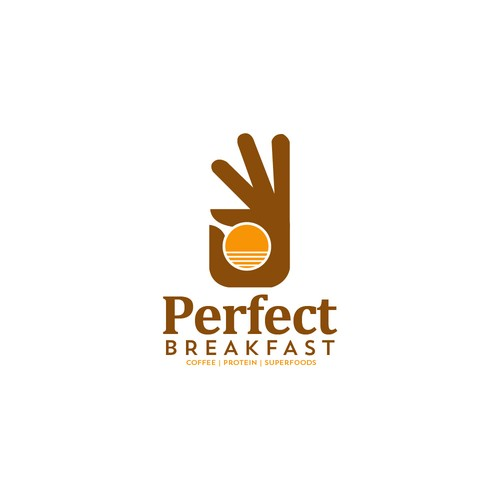 Perfect Breakfast Logo Design.