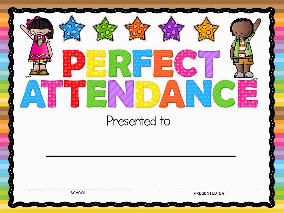 Attendance Award Clipart.