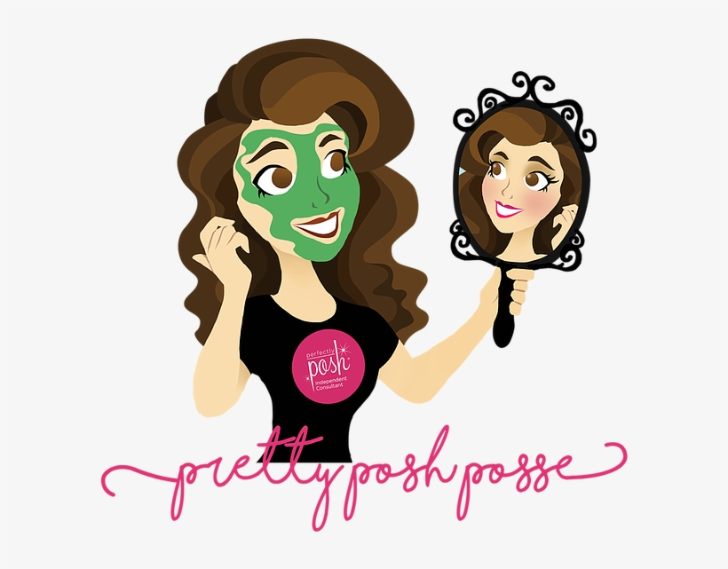 Logo For Lexi King, Perfectly Posh Independent Consultant.