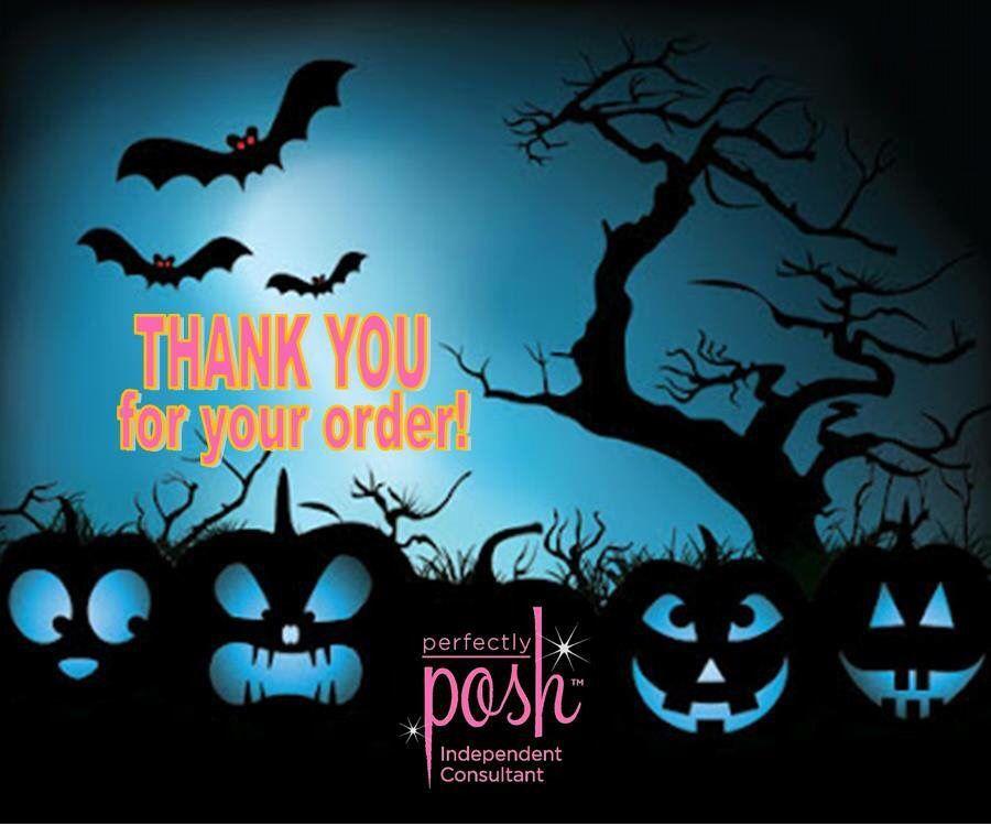 Halloween Posh Thank you.