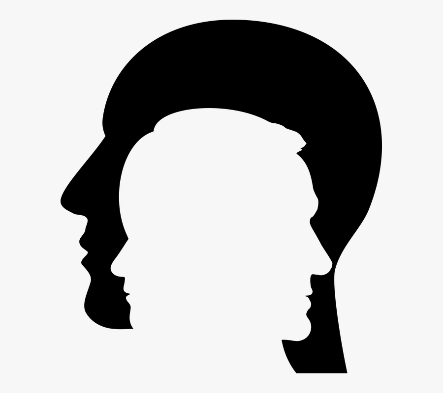 Man, Profile, Silhouette, Men, Child, People, Human.