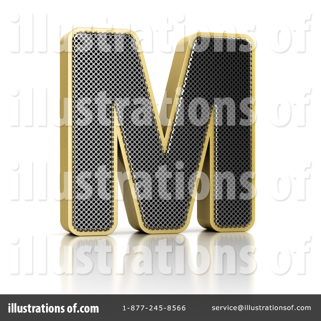 Perforated Letter Clipart #1127201.