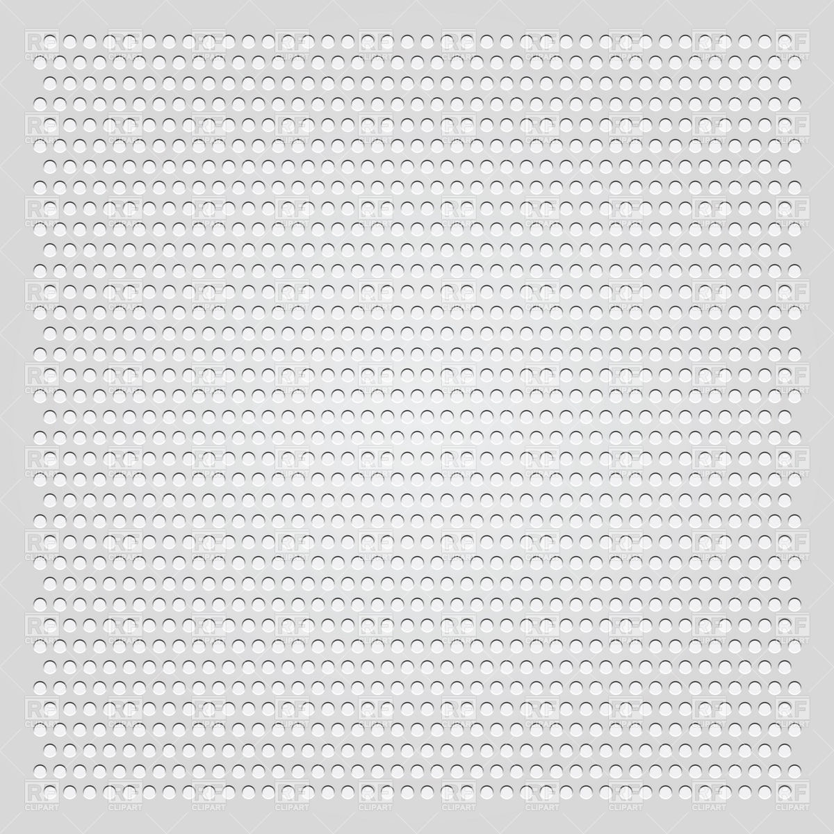 Metal perforated steel sheet Vector Image #18514.