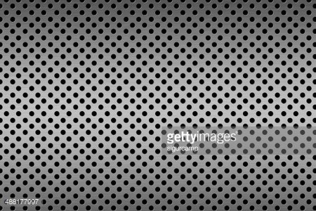 Perforated Metal texture. Clipart Image.