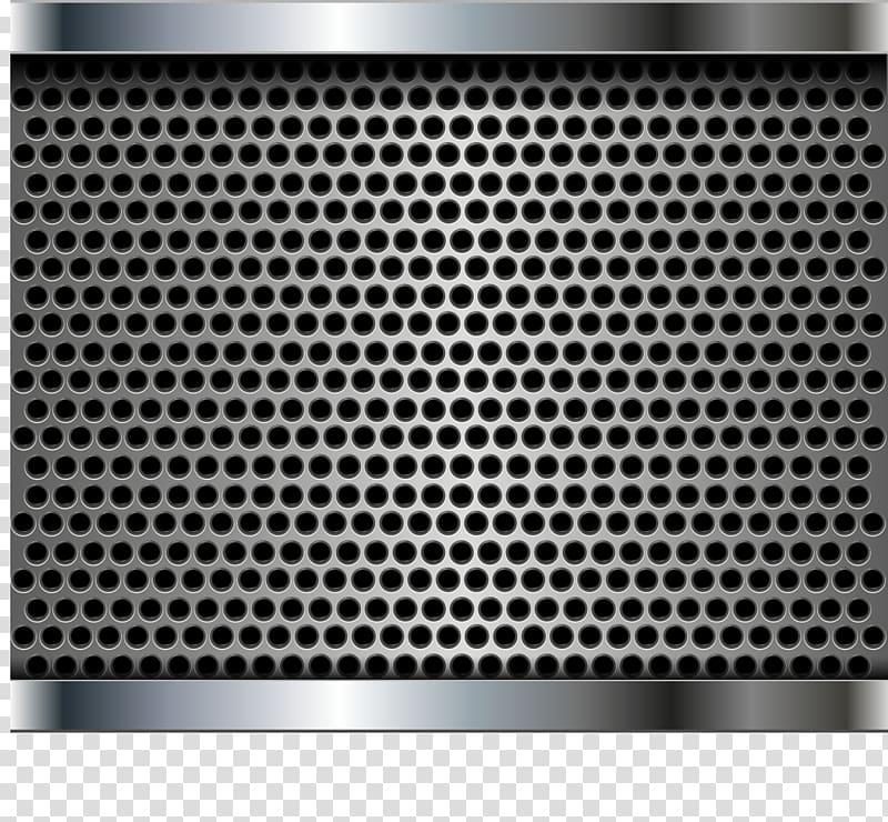 Perforated metal Manufacturing Mesh Stainless steel, Black.