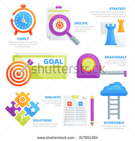 Goal Setting Stock Vectors, Images & Vector Art.