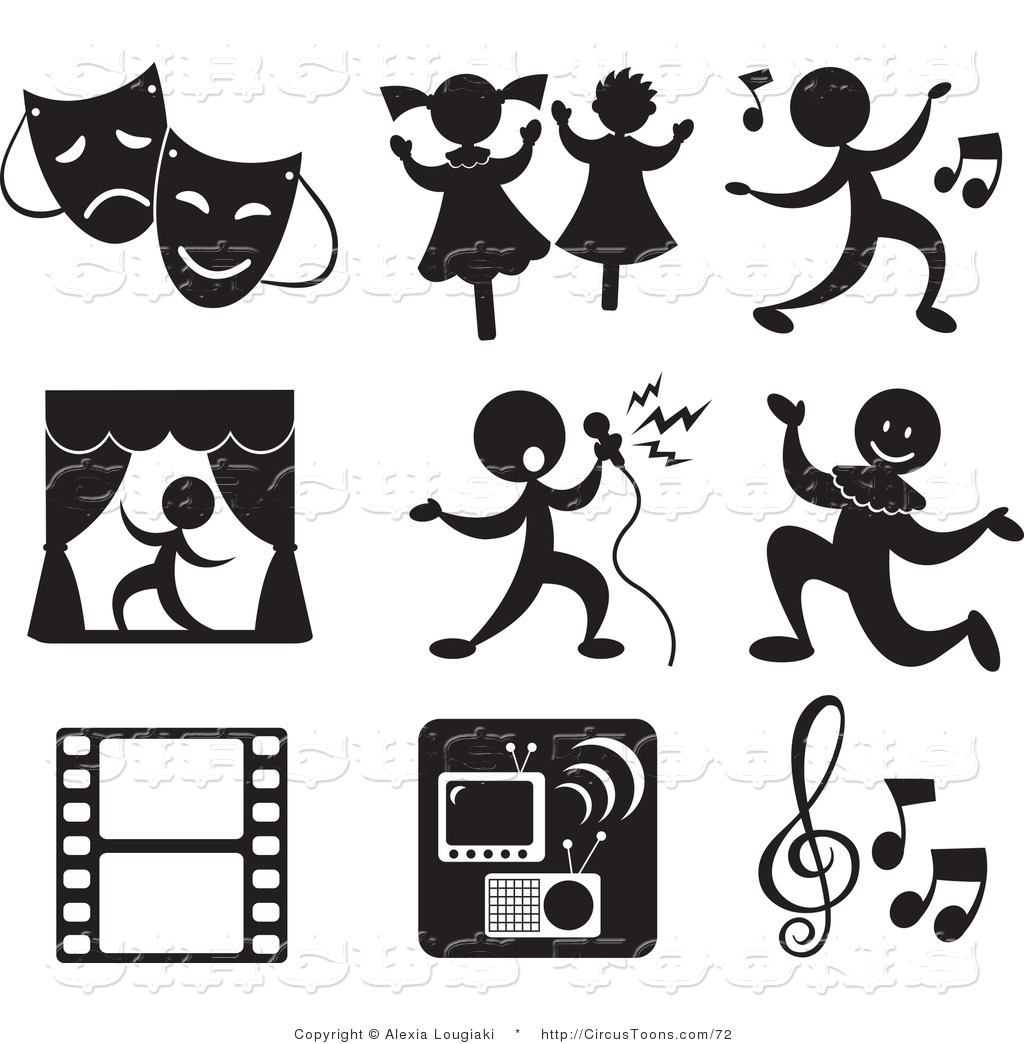 Performances clipart.