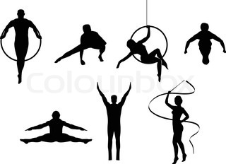 Image result for circus silhouette.