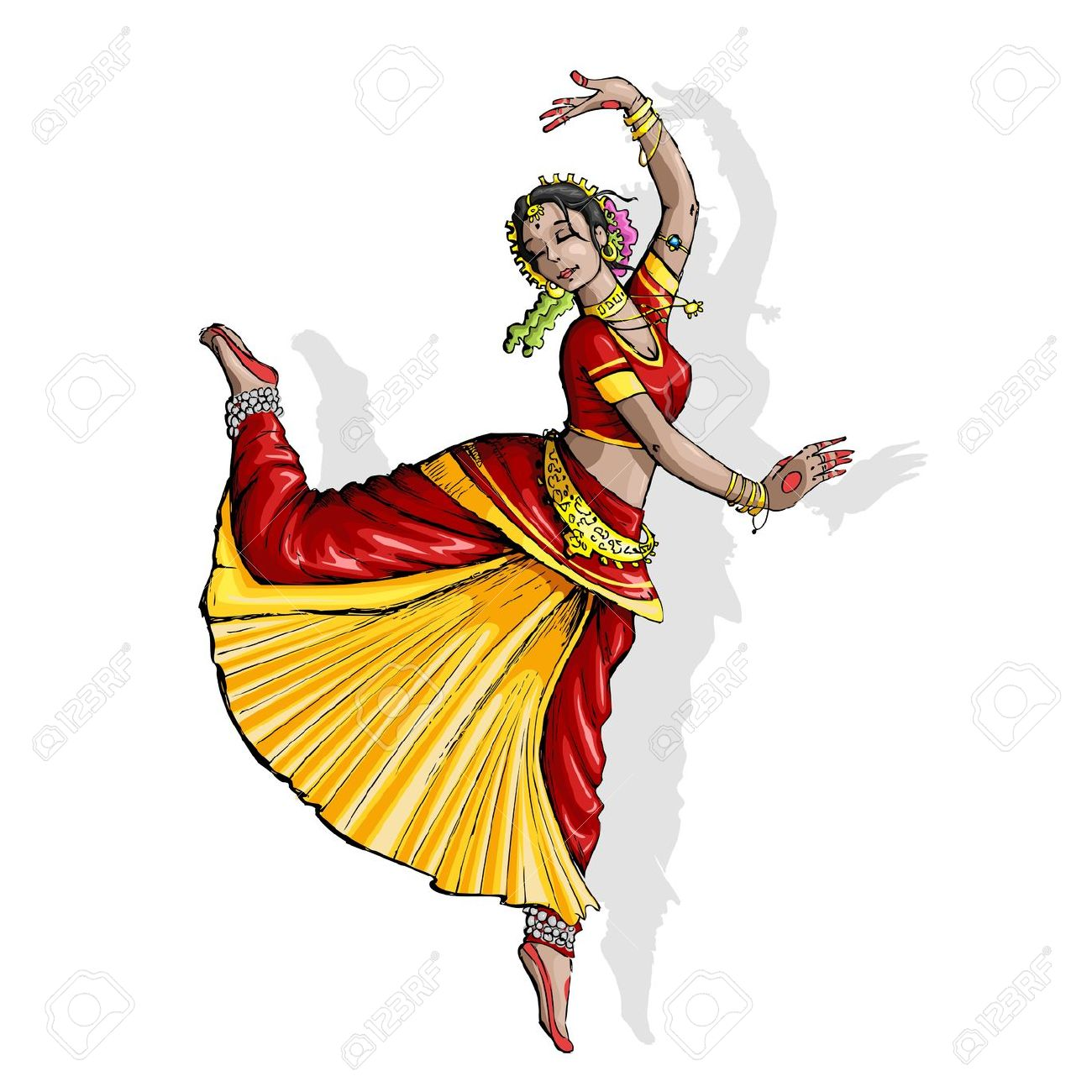 Indian Dance Clipart Clipground