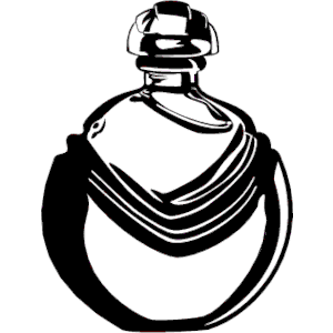 Perfume bottle clipart.