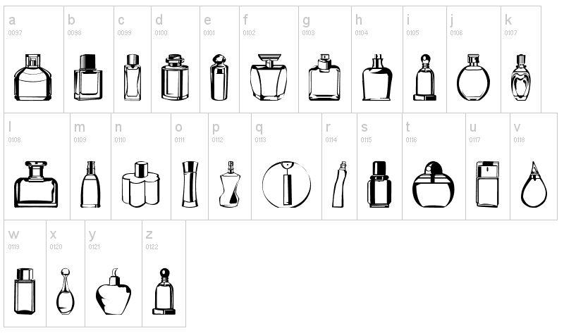Perfume Bottles Clipart.