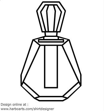 Perfume Bottle Clip Art.
