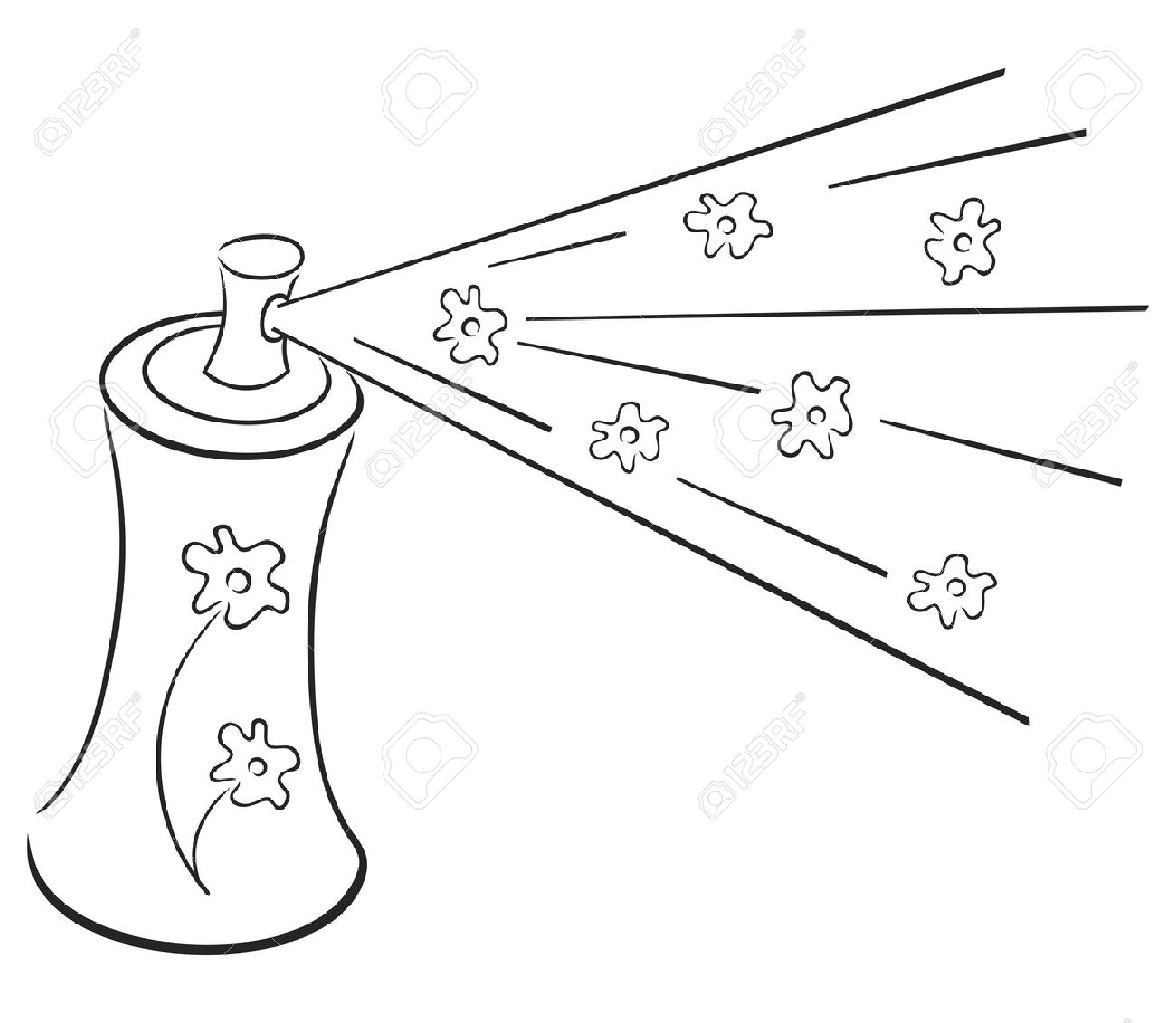 Perfume clipart black and white 8 » Clipart Station.