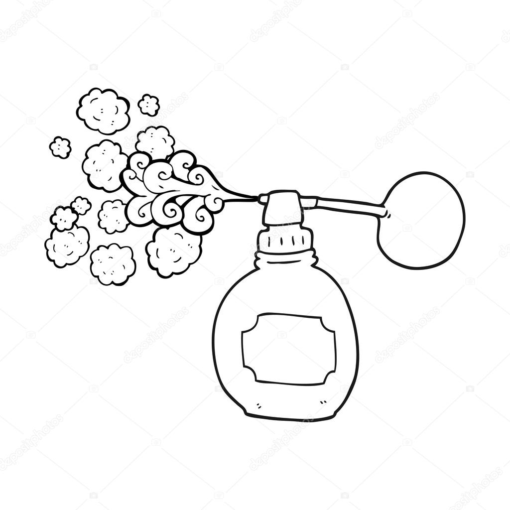 Perfume clipart black and white 5 » Clipart Station.