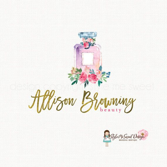 perfume logo design beauty logo design make by.