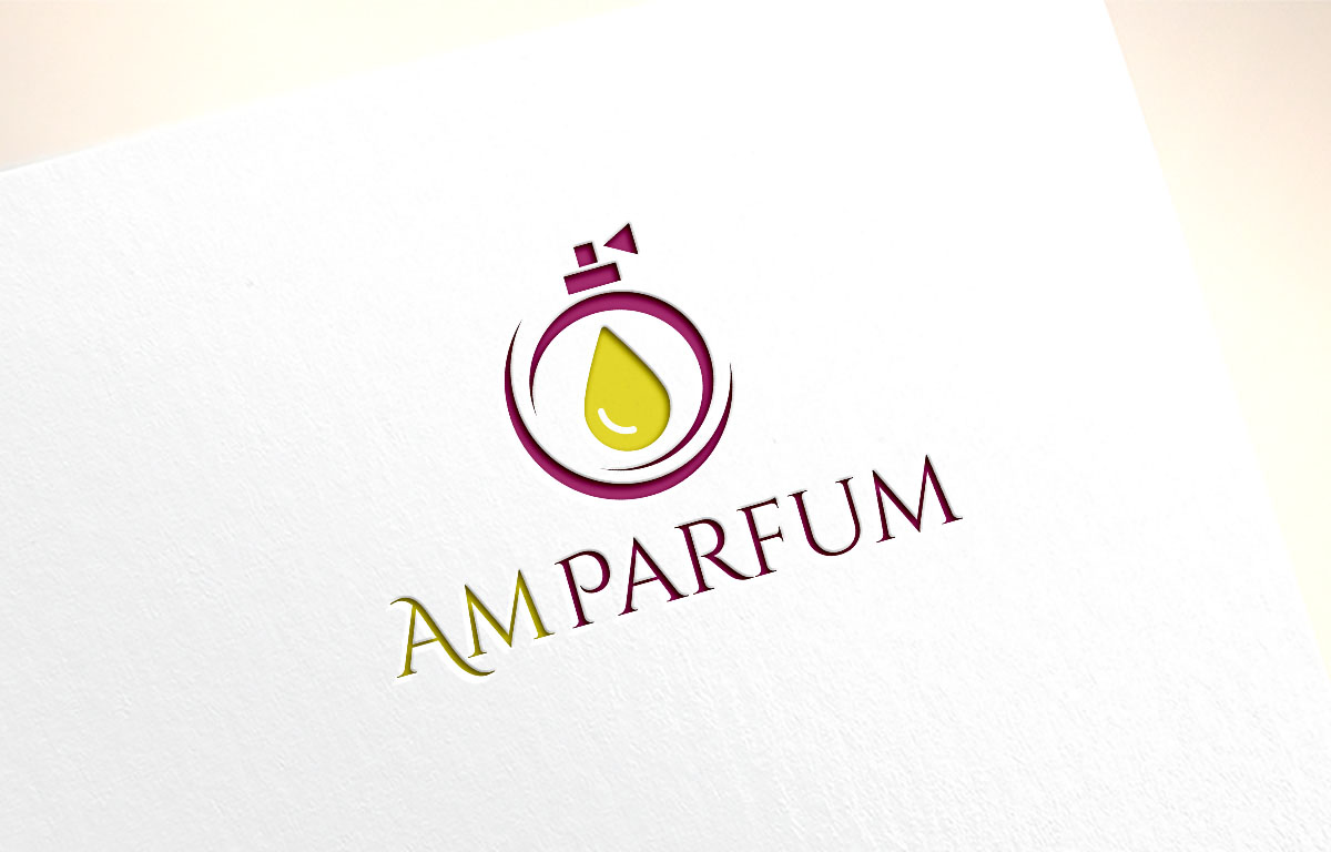 Serious, Professional, Perfume Logo Design for AM PARFUM by.