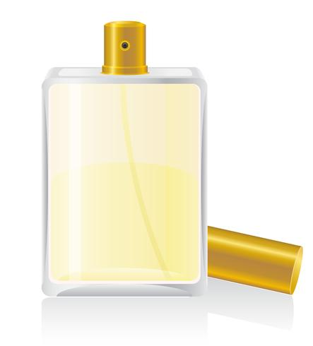 perfumes in bottle vector illustration.