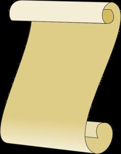 Long Scroll Clip Art at Clker.com.