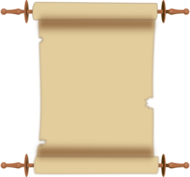 Free vector graphic: Scroll, Parchment, Document.