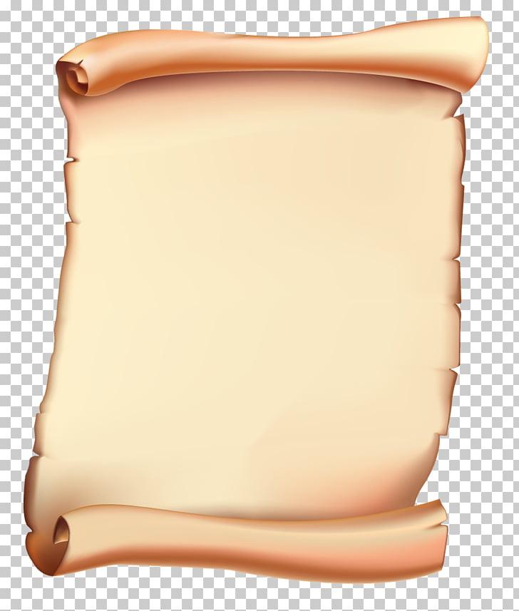 Pergamino de papel pergamino, PNG Clipart.