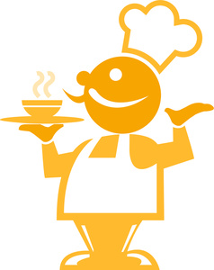 Chef Clipart Image.