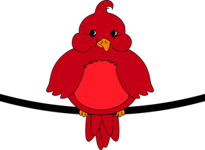 Free Bird Clip Art Image.