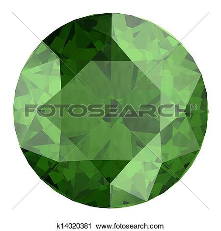 Clipart of Peridot k14020381.