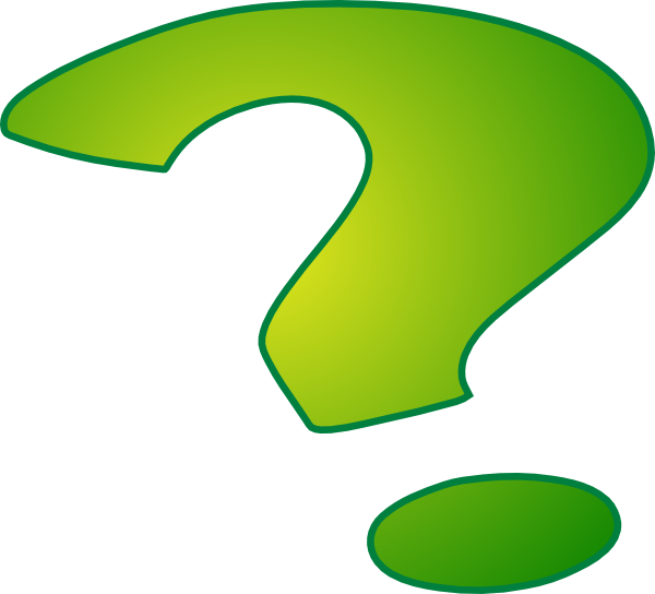 Punctuation green period clipart images.