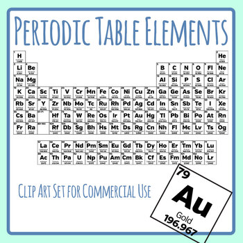 Elements of the Periodic Table.