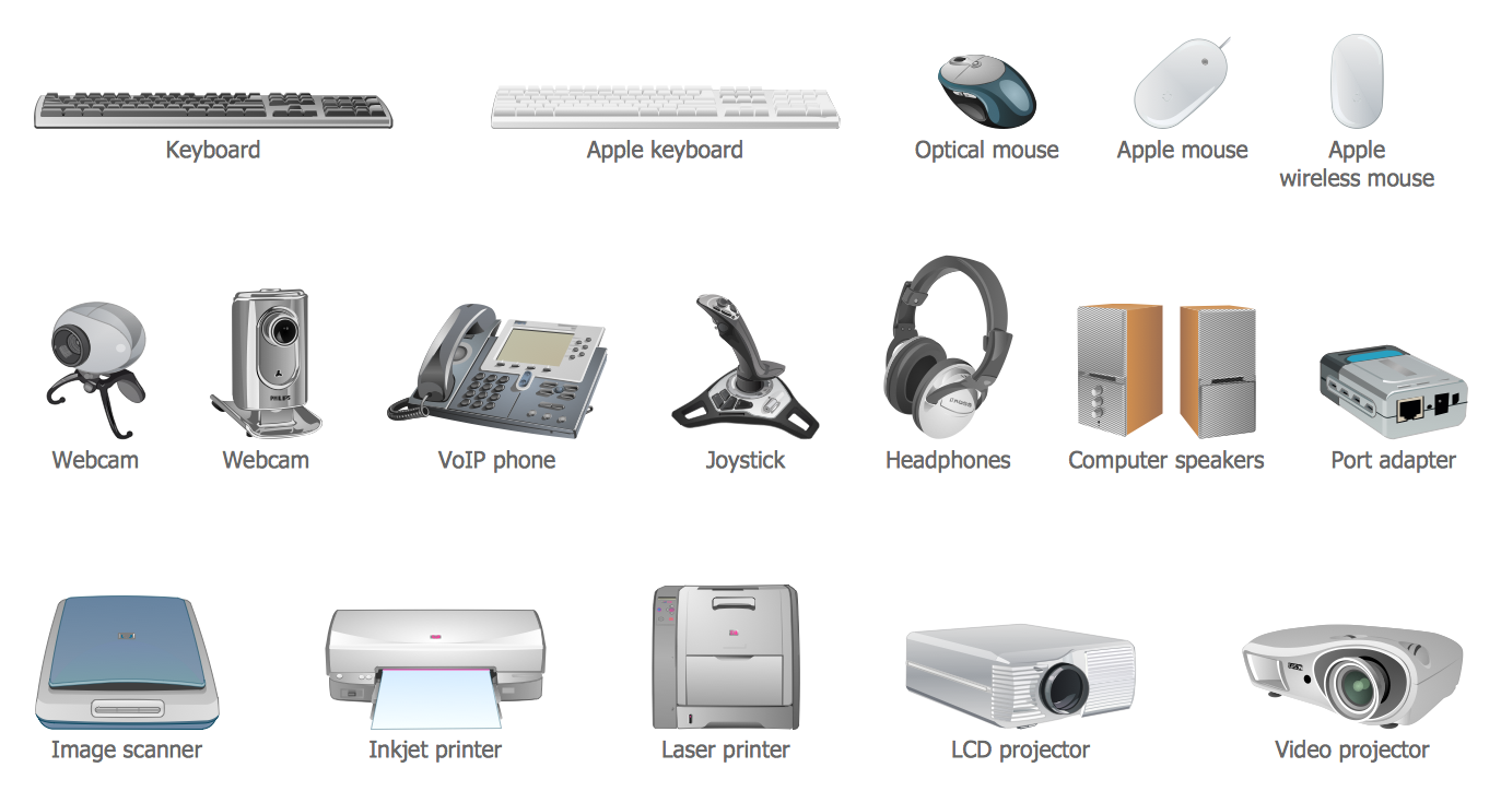 Peripheral Device Clipart