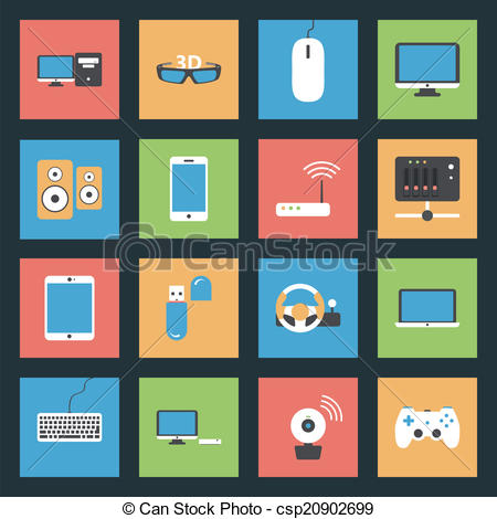 Peripherals Illustrations and Clip Art. 6,845 Peripherals royalty.