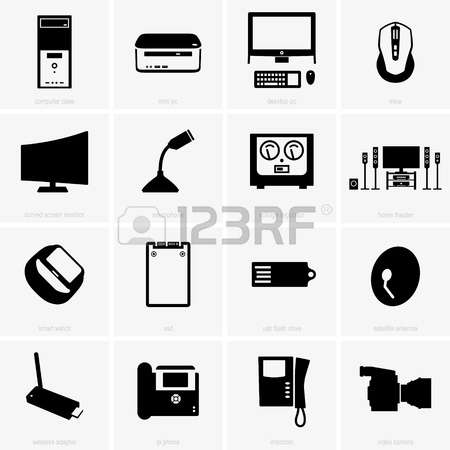 720 Computer Peripherals Stock Vector Illustration And Royalty.