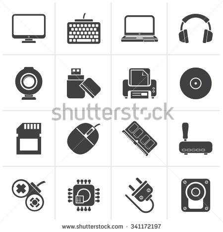 Computer Peripherals Clip Art (23+).