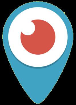 Periscope Logo transparent PNG.
