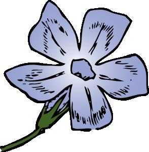 Purple Flower 6 Clip Art at Clker.com.