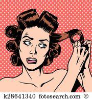 Hair perm Clip Art Royalty Free. 63 hair perm clipart vector EPS.