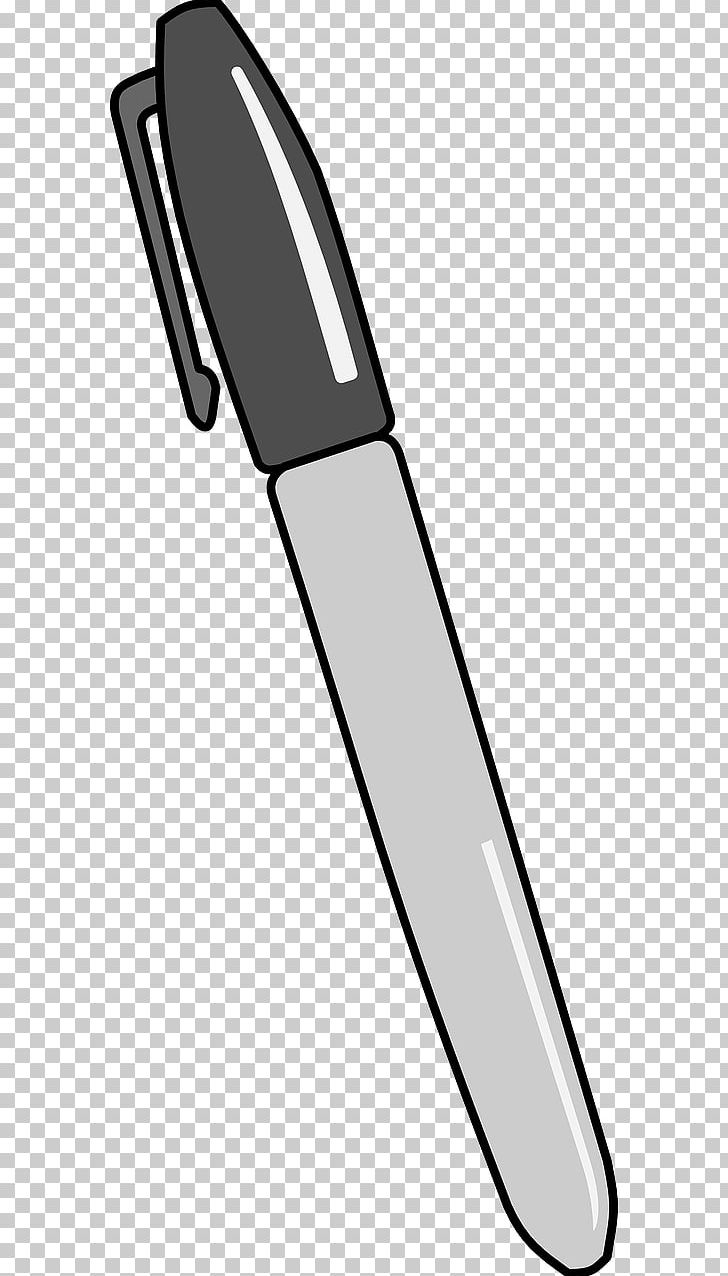 Permanent Marker Marker Pen Sharpie PNG, Clipart, Black And.