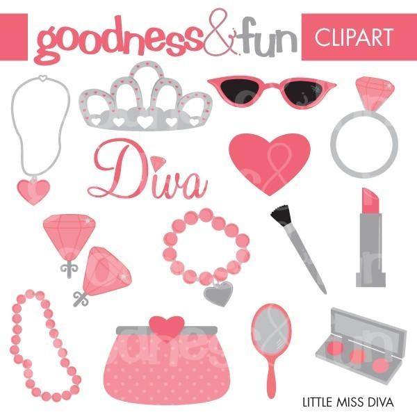 Divas Clip Art.