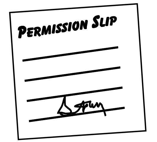 Permission slip clipart 2 » Clipart Portal.