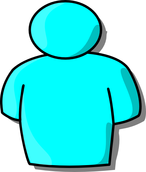 Person Clip Art Silhouette.