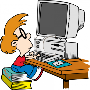Personal computer clipart.