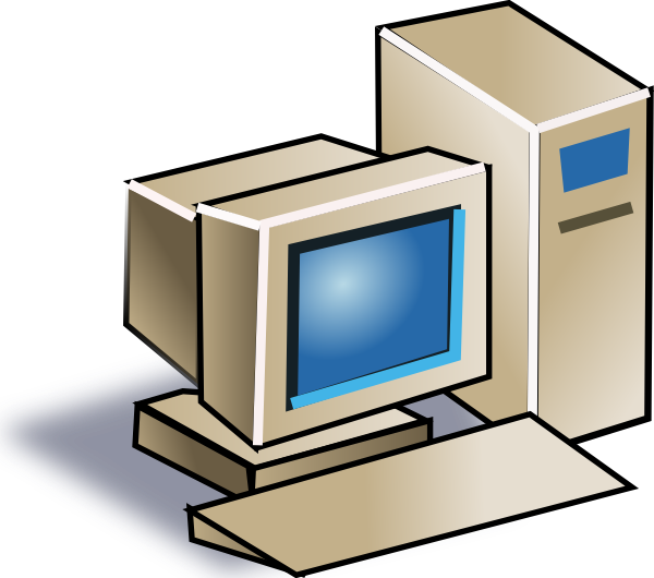 Personal Computer clip art Free Vector / 4Vector.