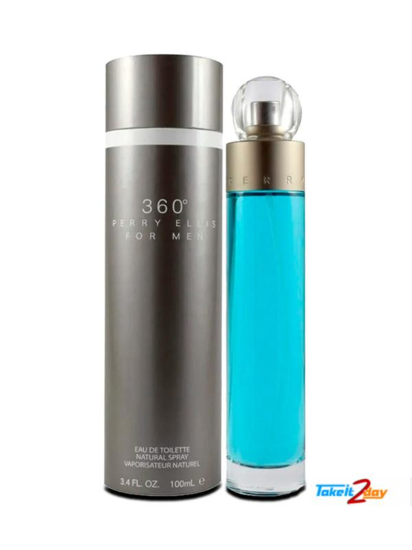 Perry Ellis 360 Perfume For Man 100 ML EDT.