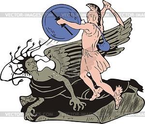 Perseus clipart #5