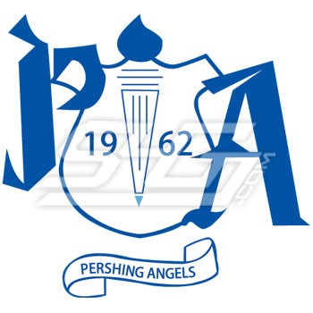 Pershing Angels Crest Patch.